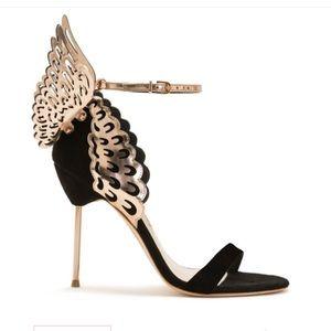 Sophia webster size5 new black and rose gold